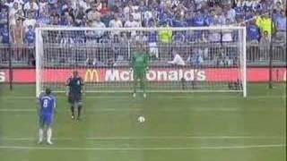 Van der Sar vs Chelsea