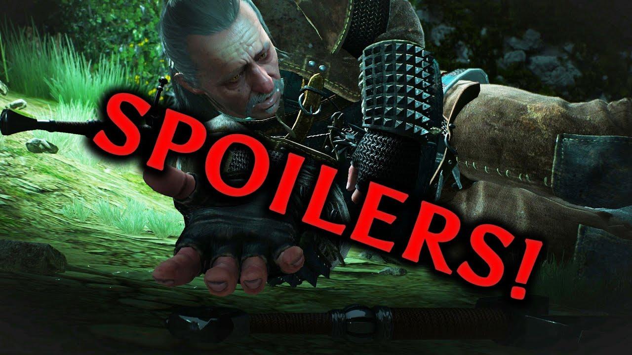 The Witcher 3: Wild Hunt - *SPOILERS AHEAD* Vesemir Final ...