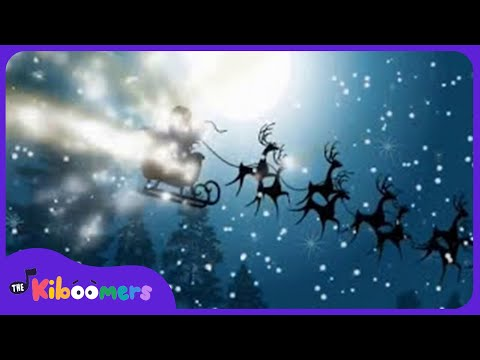 Rudolph The Red Nosed Reindeer | Christmas Songs for Kids | Santa | The Kiboomers