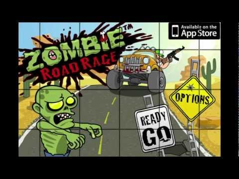 Zombie Road Rage iPhone Game Trailer (Coming Soon) - CrazyMikesapps