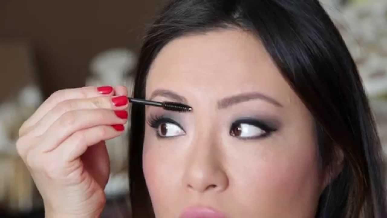 Makeup Tutorial  How To Apply Eyebrow Extender Fibers Fillers Divaderme   Ep 17  Shelly's Beauty  Youtube