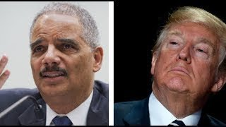 Former Attorney General Eric Holder Urges DOJ Employees to Defy Trump Administration