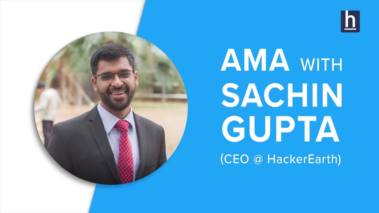 IGTV: AMA with Sachin