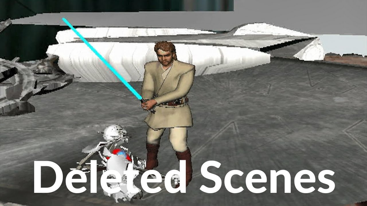 Download Deleted Scenes - Utapau Chase Animatics - Star Wars Episode III Revenge of the Sith 2005