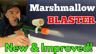 PVC Marshmallow Blaster New and Improved