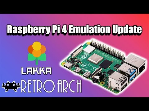 Raspberry Pi 4 The Emulation Situation Update - Lakka
