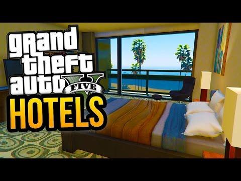 NEW MAZE BANK HOTEL IN GTA 5! - Luxury GTA 5 Hotels & More! (GTA 5 Mods)