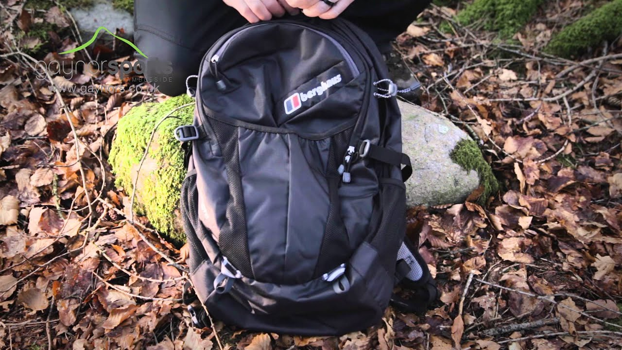 c140c0032 Berghaus Remote 30 ll backpack. www.gaynors.co.uk - YouTube