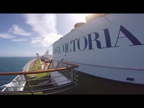 Costa Victoria cruise from Singapore to Hong Kong