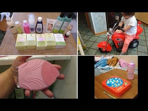 VLOG #EVINAL #FABERLIC массажная щётка/ Интересные детские игрушки
