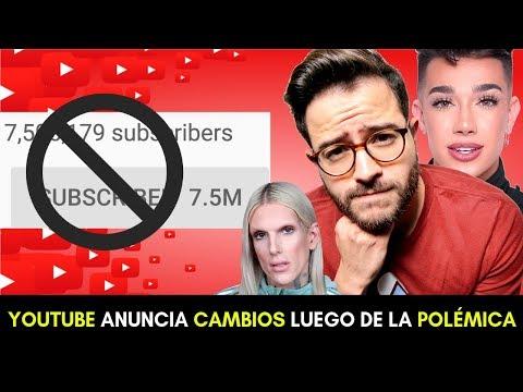 YOUTUBE ANUNCIA CAMBIOS LUEGO DE LA POLÉMICA CON JAMES CHARLES thumbnail