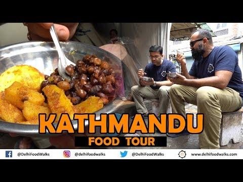 Kathmandu Food Tour I HUGE Thakali Thali + BEST Noodle in Nepal + Sekuwa BBQ + Tibetan Street Food