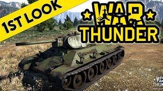 War Thunder Tank Battles - First Look At Gameplay