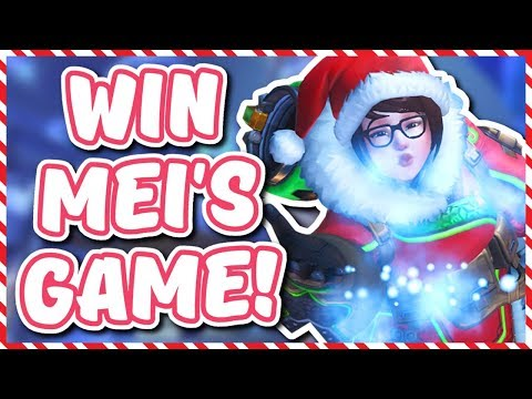 Overwatch - HOW TO WIN MEI'S SNOWBALL OFFENSIVE (Tips and Tricks)