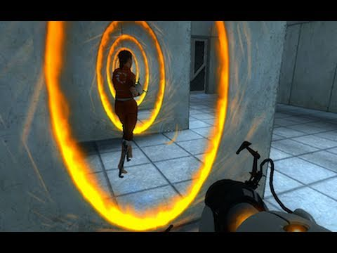 Portal Walkthrough - Part 1 of 3: Thinking With Portals Levels 1 - 15