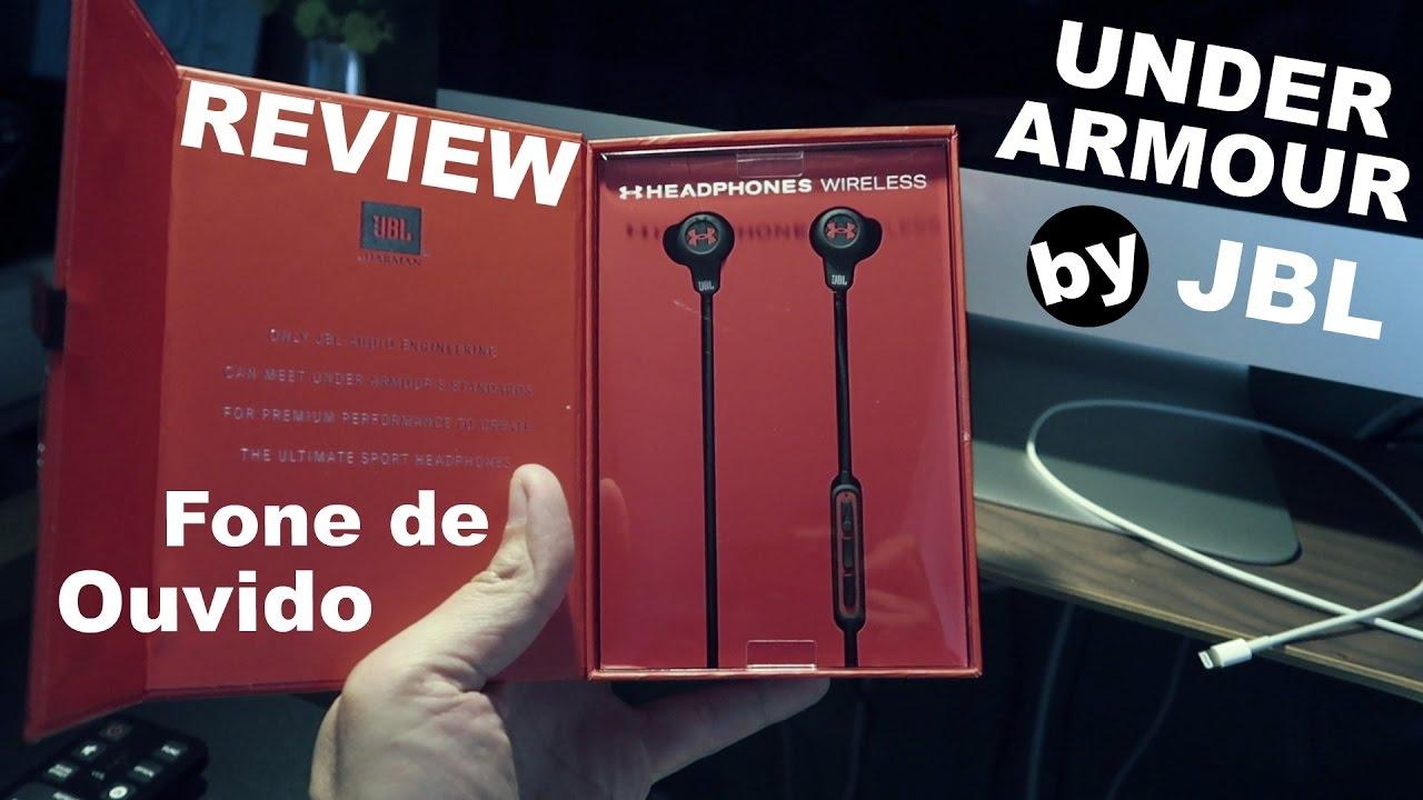 36072401638 Fone de Ouvido Under Armour by JBL - Review Português - Brasil (pt ...