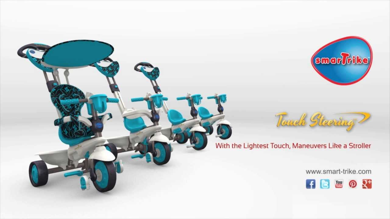 sc 1 st  YouTube & Tricicleta Smart Trike Dream Touch Steering 4 in 1 - YouTube islam-shia.org