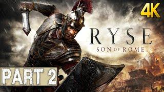 Ryse: Son of Rome Gameplay Walkthrough Part 2 4K Ultra PC 2160p