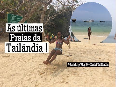 #ÁsiaTrip Vlog 9|Tailândia - Krabi | Lagoon, Koh Phak Bia, Koh Lao Lading, Hong Island Bay
