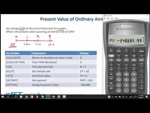 CFA Exam Calculator Tutorial (Multiple Cash Flow) Texas Instruments BA II Plus