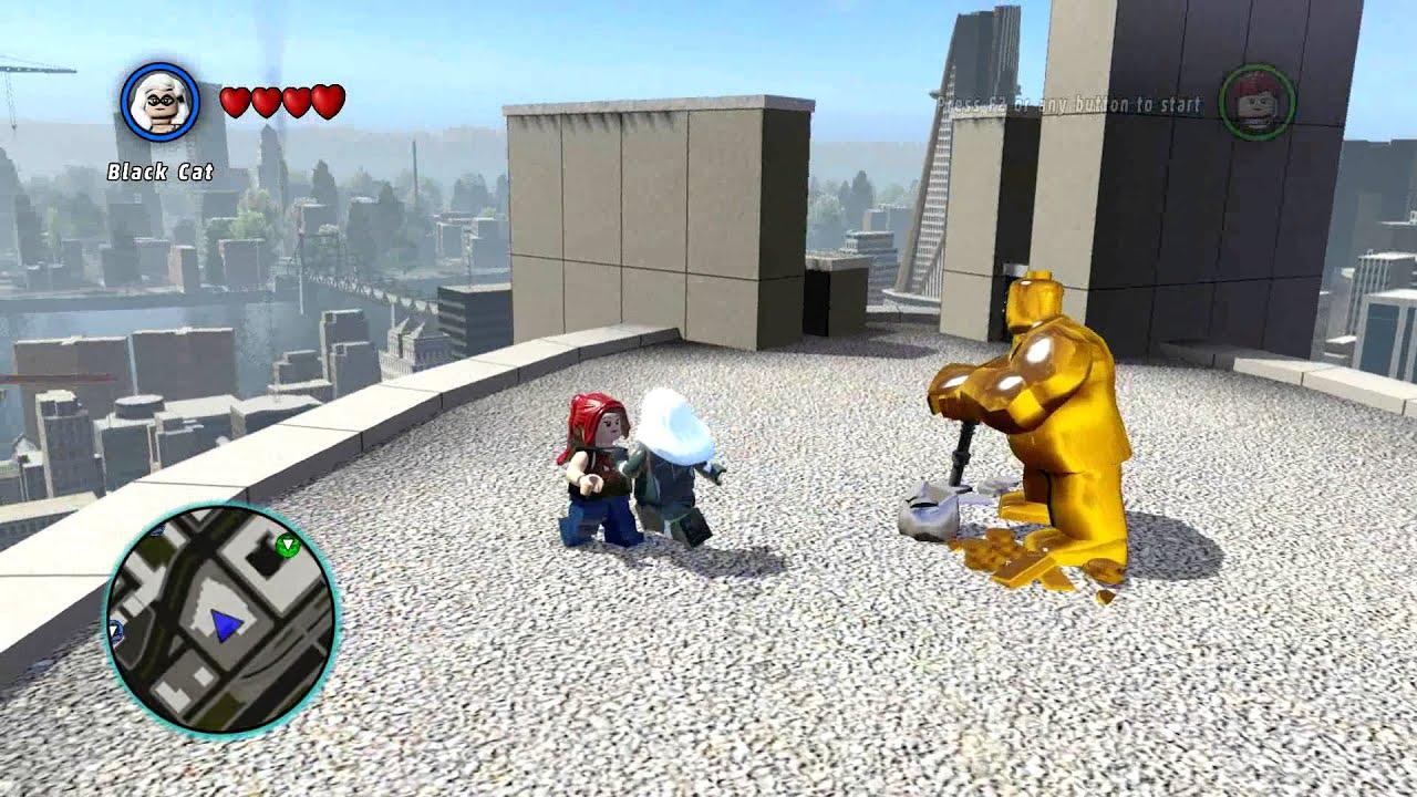 LEGO MARVEL Super Heroes - Black Cat Kills Mary Jane ...
