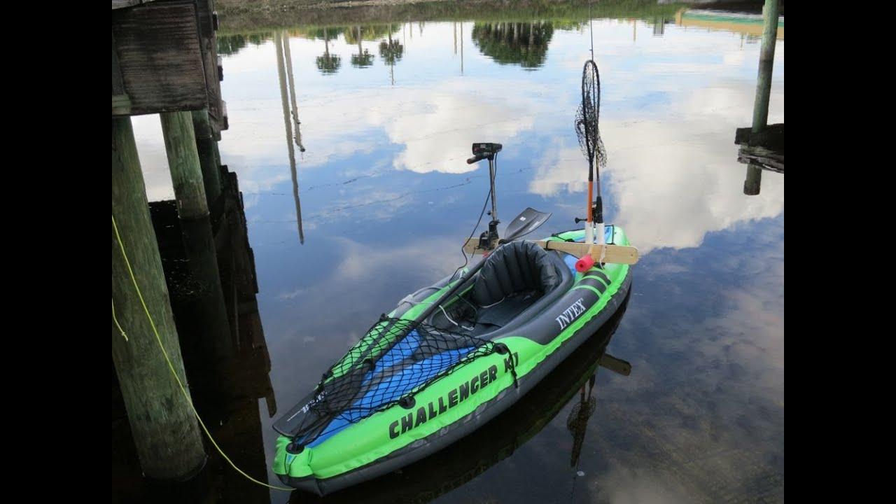 2 Motor Mount 60 Inflatable Intex Kayak 25 Trolling