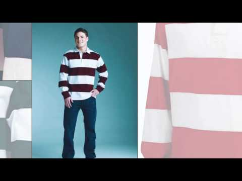 Charles River Apparel Style 9278 Classic Rugby Shirt
