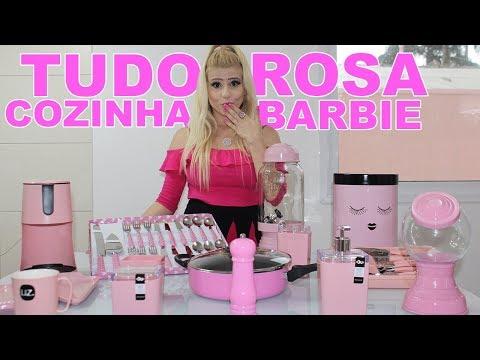 CASA BARBIE DREAMHOUSE - DIÁRIO DE DECORAÇÃO Ep. 21 - RECEBIDOS PARA MINHA COZINHA BARBIE