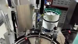 Lom US Client's Automatic CBD Oil Filling Machine For Cartridges, Atomizer