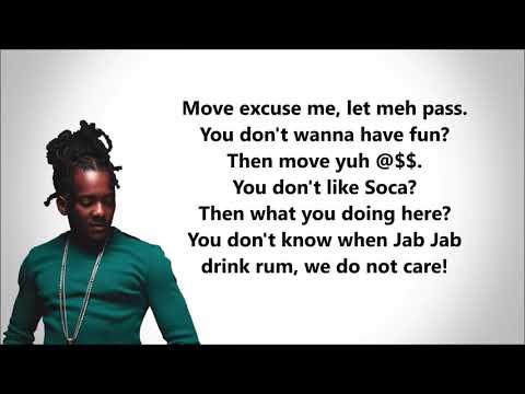 Mr. Killa- Run Wid It (Lyrics)
