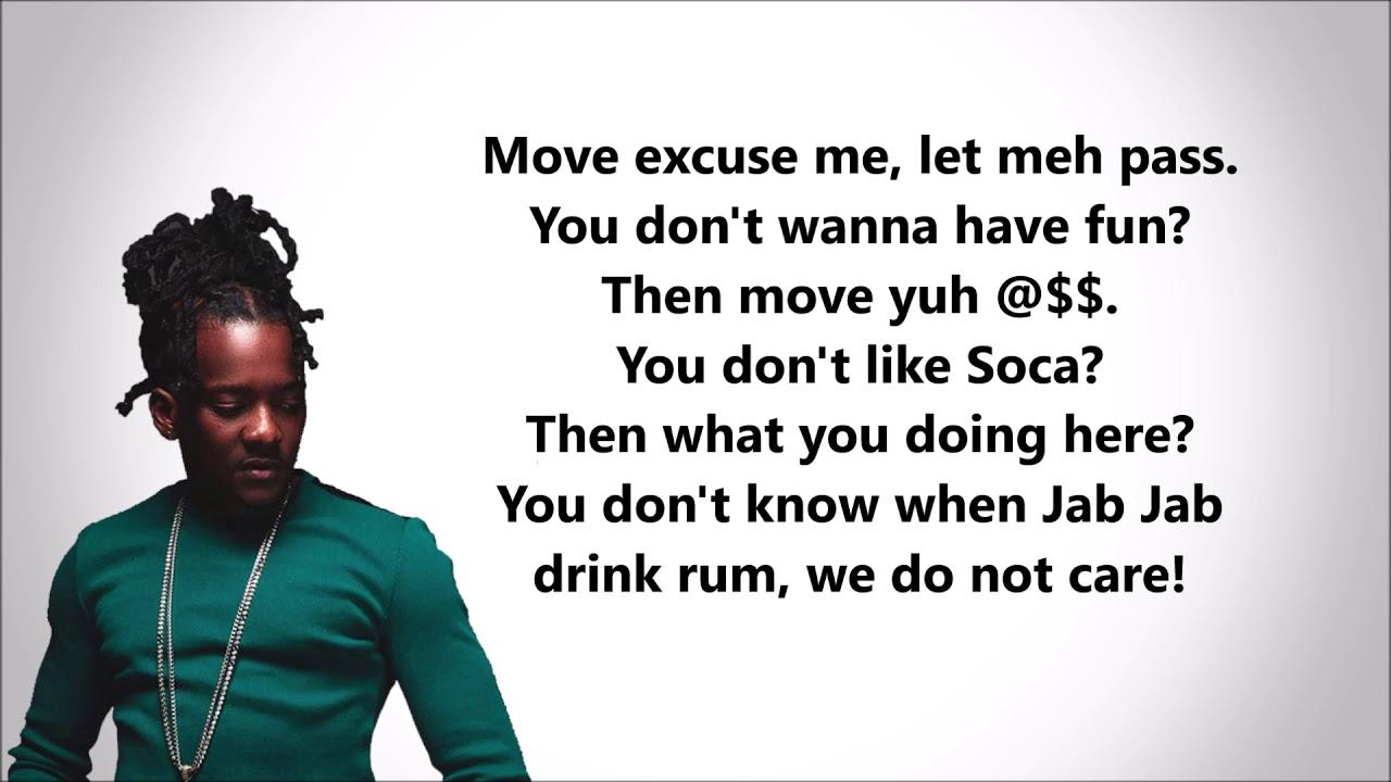 Mr  Killa- Run Wid It (Lyrics)