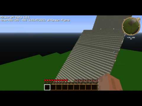 Minecraft- Ryugyong Hotel (huge) (HD)