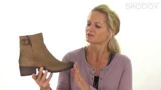 Skobox - Tamaris 25836 støvlet i lys brunt ruskind - Køb Tamaris støvletter online