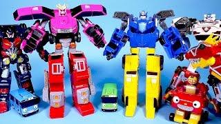 미니특공대 최강전사 2단합체, 헬로카봇 파워레인저 다이노포스 타요 뽀로로 로보카폴리 또봇 장난감 MiniForce carbot toys Robocar poli
