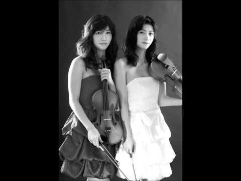 炎舞 violin twins.Spark fire