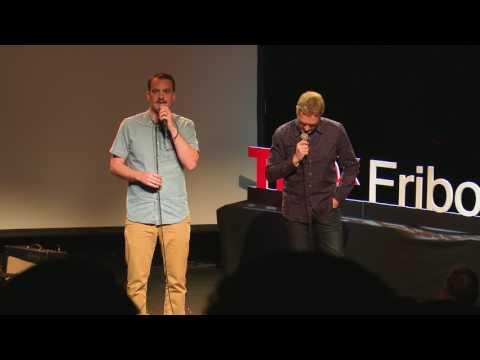 Même prénom, personnalité différente | Vincent Kucholl & Vincent Veillon | TEDxFribourg