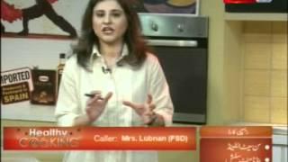 ''healthy Cooking'' - Ep# Sunset I Land - Banana Mint Slush Part-2/4 (30-apr-12) Health Tv.mpg