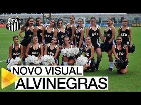 Novo visual das Alvinegras da Vila