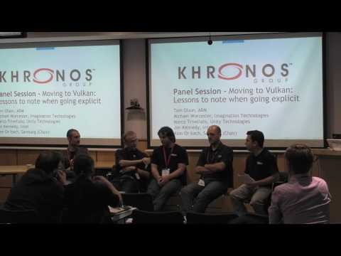 Khronos Vulkan Panel Discussion