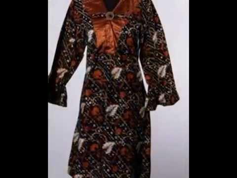Model Baju Batik Untuk Wanita Gemuk Reni Sofyani Dec Model