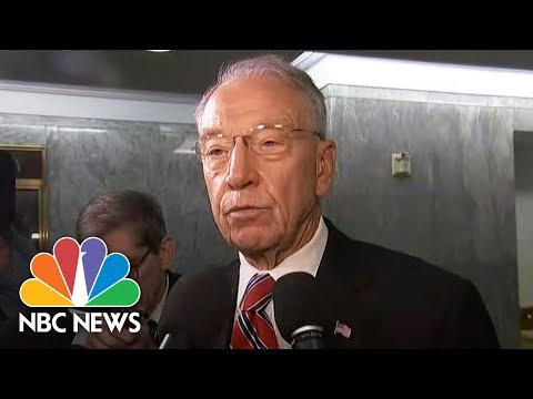 Chuck Grassley Says He Learned Of President Trump's Pick For FBI Director From Twitter | NBC News