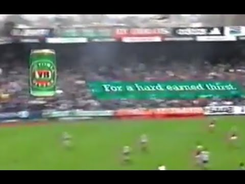 1999 Collingwood v Brisbane, r.22. Last match at Victoria Park