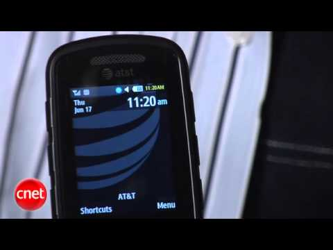 ATT Samsung Rugby II cell phone
