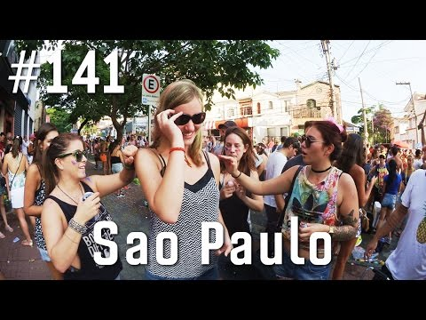 GLAMOUR AUF BRASILIANISCHEM KARNEVAL!!! | Weltreise Vlog #141 Sao Paulo, Brasilien
