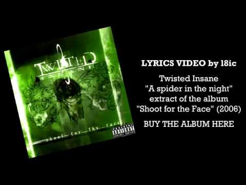 Twisted Insane - A Spider In The Night [LYRICS]