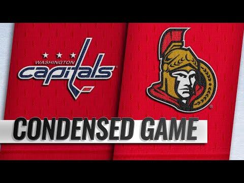 12/22/18 Condensed Game: Capitals @ Senators