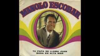 MANOLO ESCOBAR  - BODA EN ALTA MAR (1970)