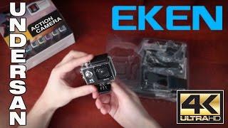 EKEN H9 Ultra HD 4K Action Camera - Розпакування і Перші Враження