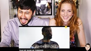 TVF GAME OF THRONES - Hindi Theme Song | Reaction | Jaby & Bre!