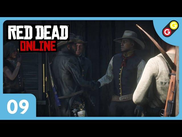 Red Dead Online #09 On bosse pour Samson Finch ! [FR]